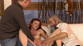 Old granny fuck hd Unexpected experience with an older gentl